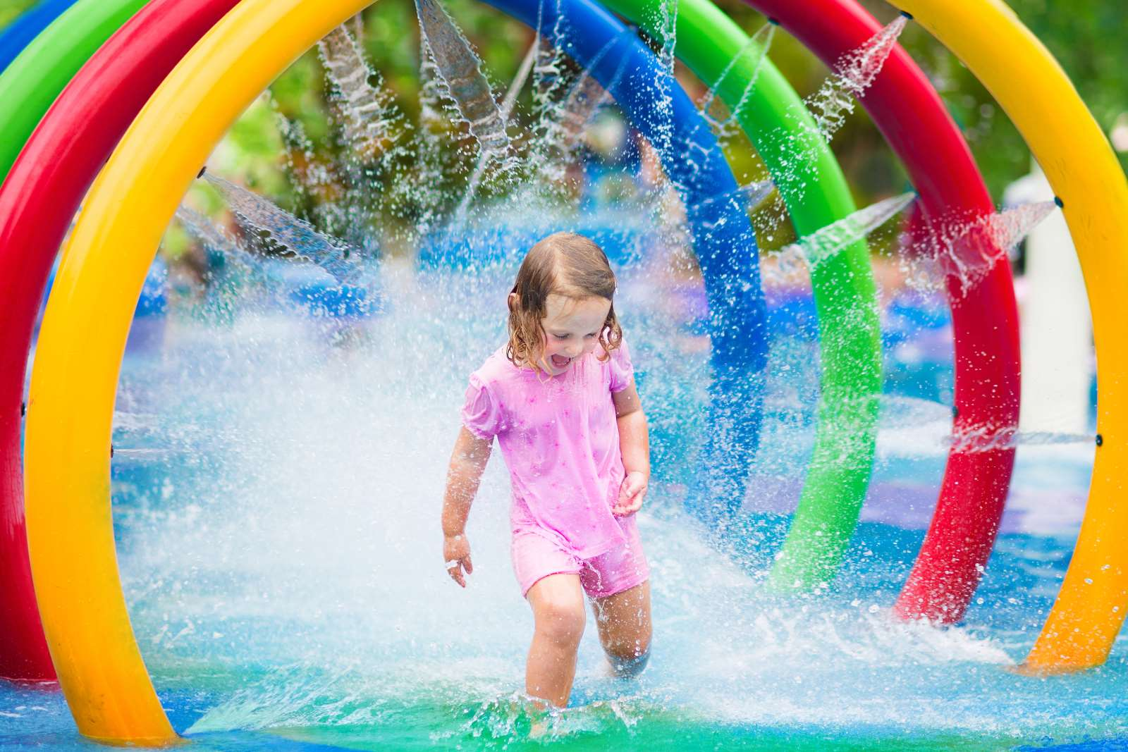 Pools, Rinks & Water Play