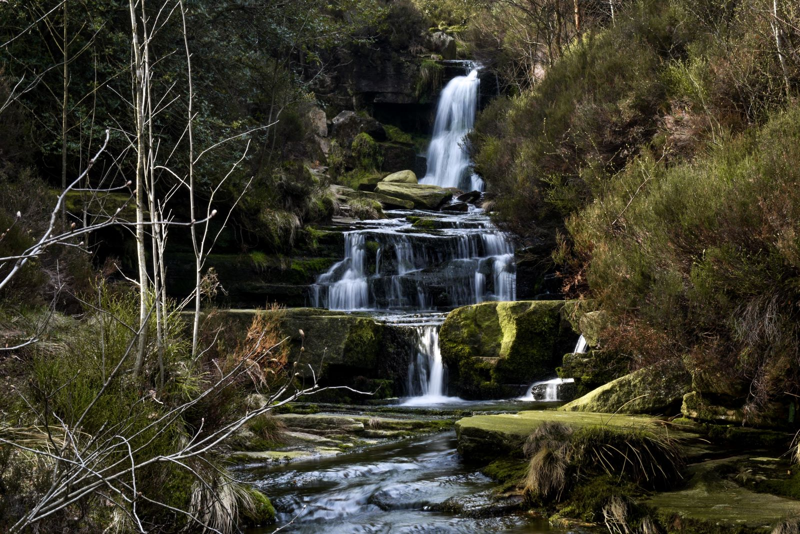 Black Clough Waterfall