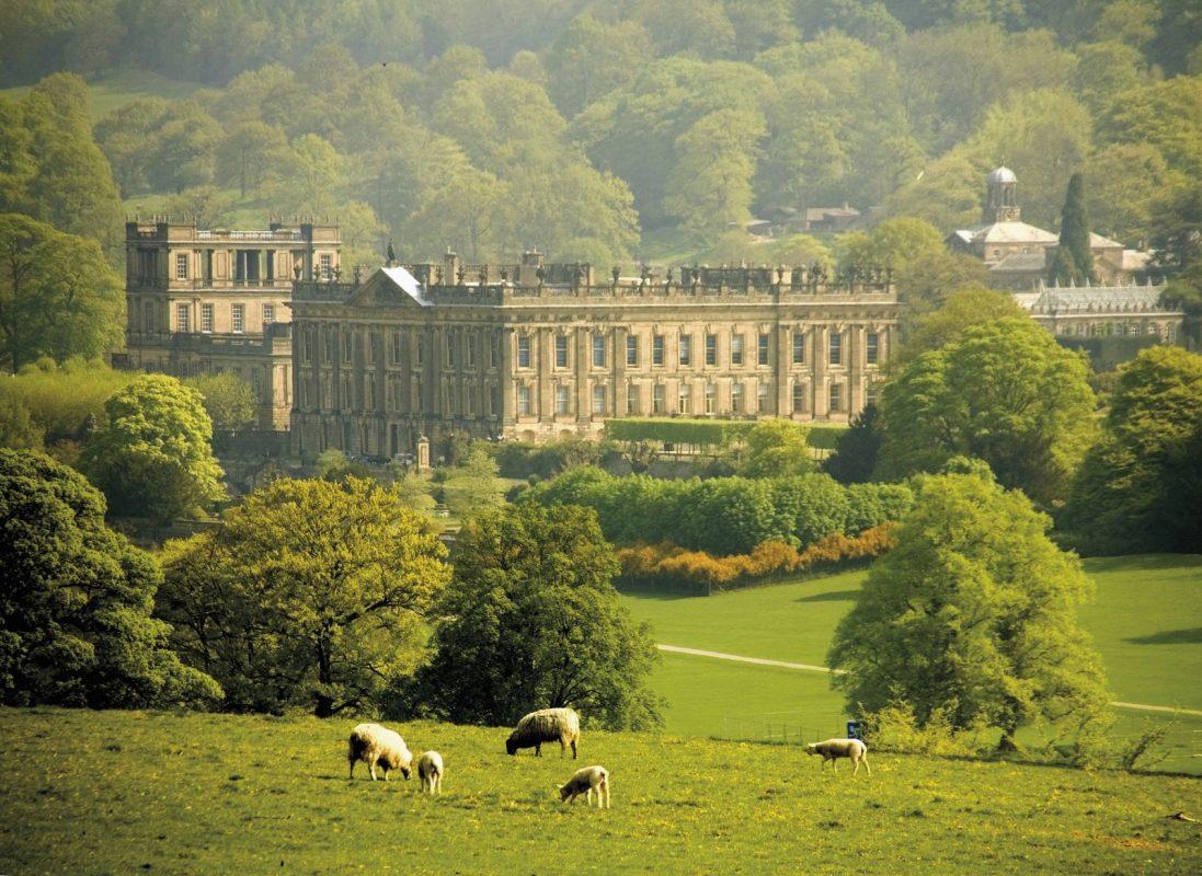 Chatsworth House And Farmyard