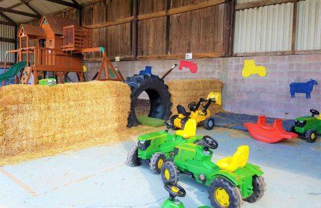 The Hayloft and Sandy Lane Farm