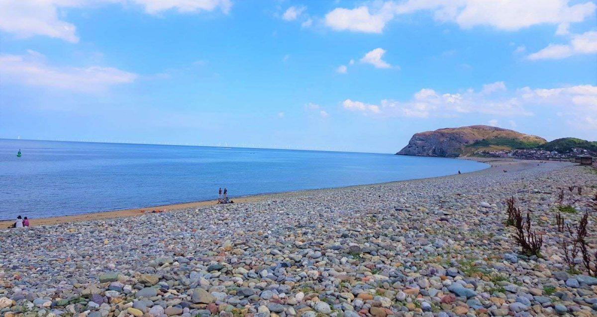 Llandudno North Shore Beach And Promenade
