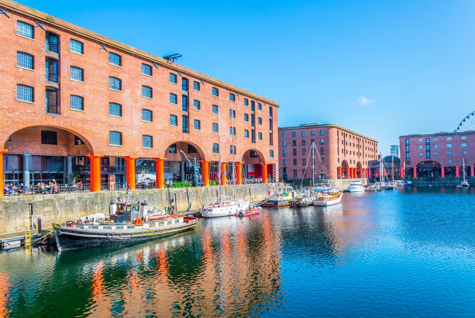 Royal Albert Dock And Liverpool's Waterfront