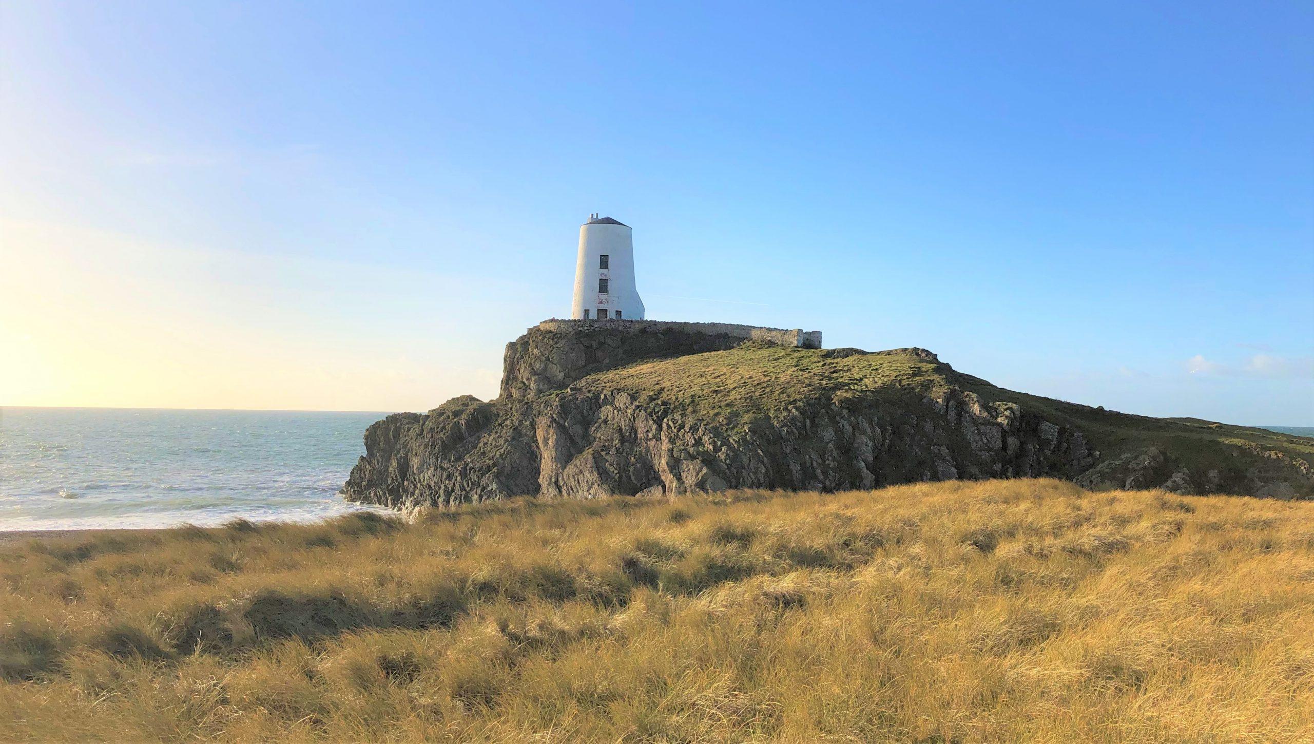 Llanddwyn Island and Tŵr Mawr lighthouse