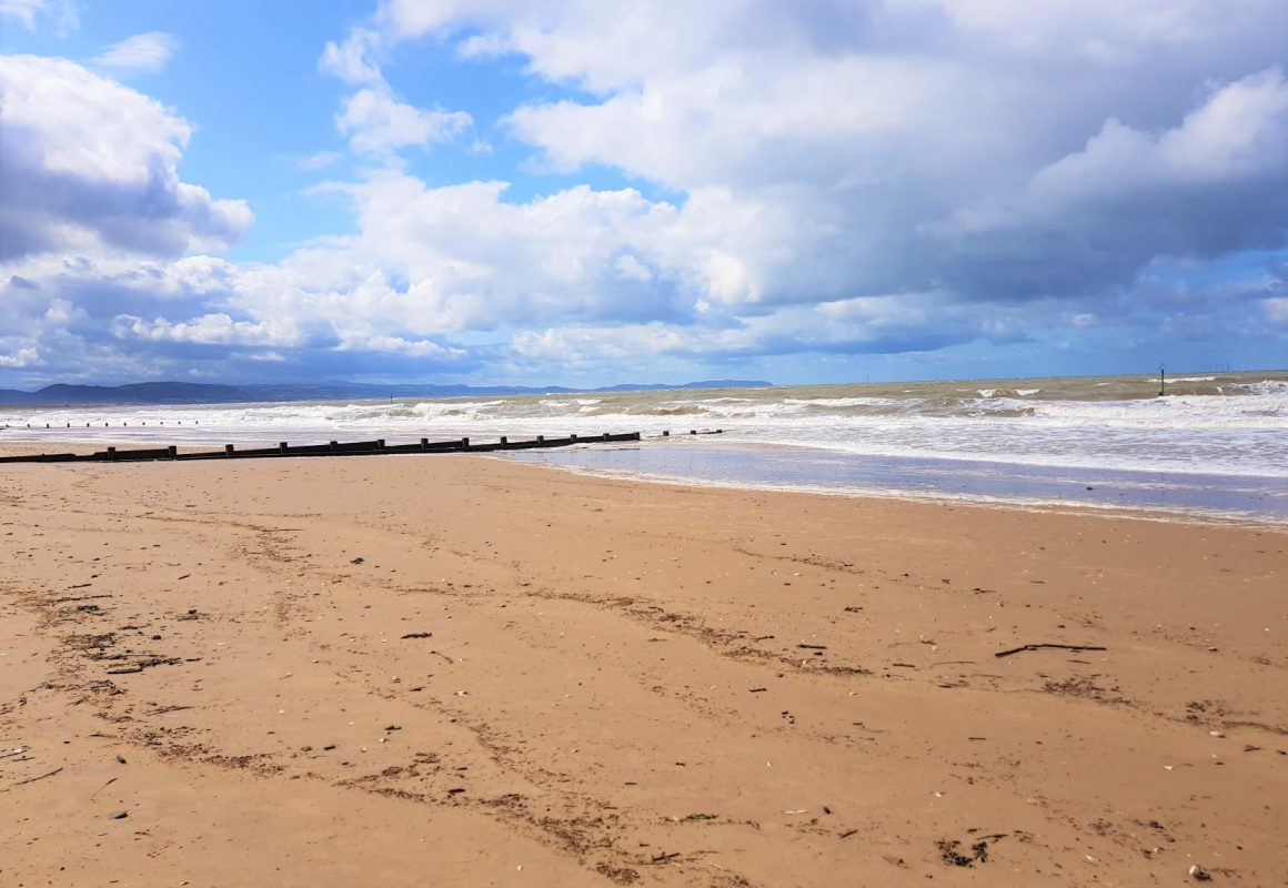 Rhyl Beach and Promenade