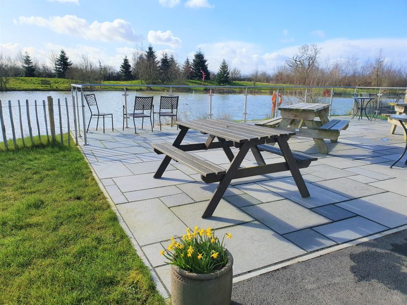 A  gem in the Cheshire countryside - The Lakeside Café At Manor Wood, Coddington Near Chester