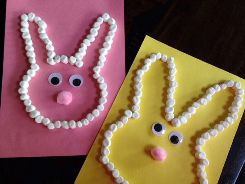 Easy Easter Crafts for kids, by Kids Craft Zone