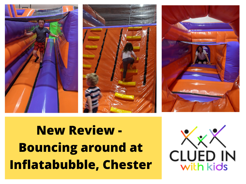 Review - Bouncing Around At Inflatabubble, Chester's New Inflatable Theme Park